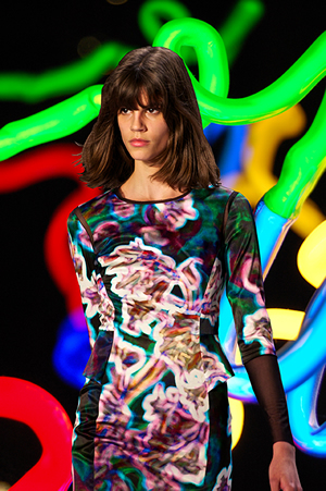 neon catwalk